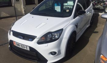 Late 2009 Ford Focus 2.5 Turbo RS full