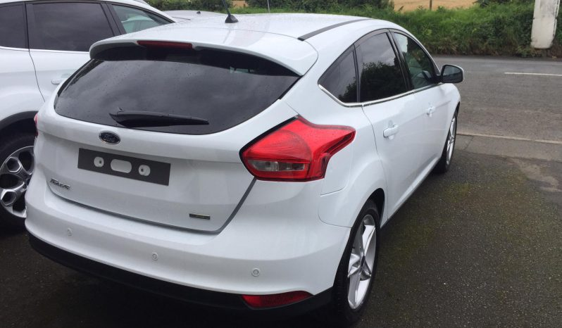 2017 Ford Focus 1.0 Ecoboost Zetec edition full